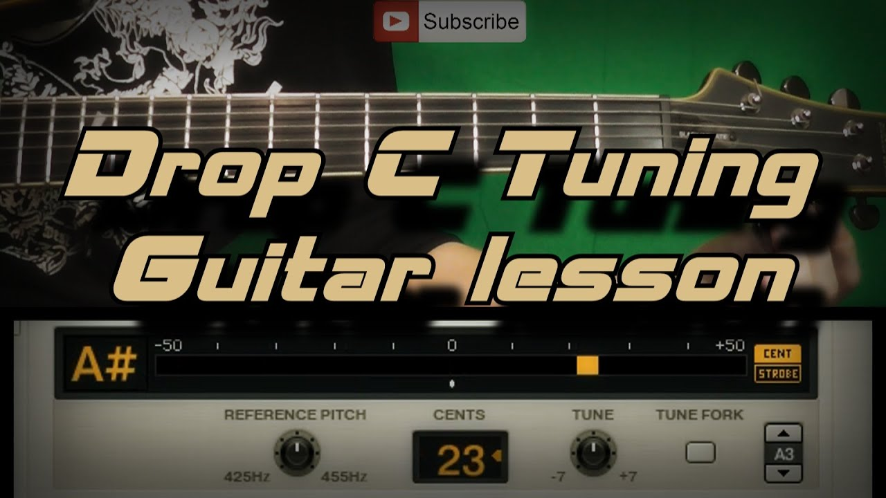 drop c drop c tuning guitar lesson youtube. Black Bedroom Furniture Sets. Home Design Ideas