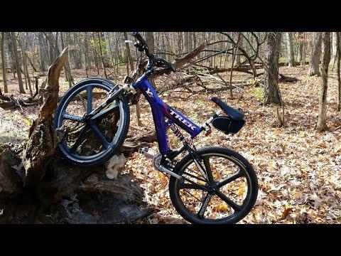 Trek Y Frame Mountain Bike Adventure Youtube