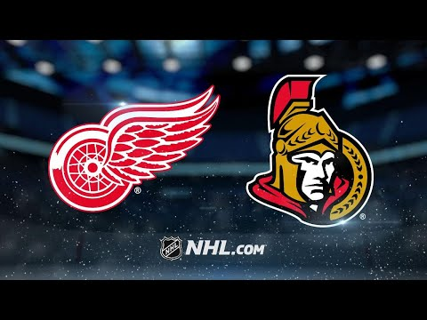 Stone, Anderson help Sens to 3-1 win against Wings