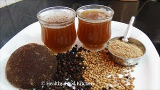 Karupatti Coffee Recipe - Palm Jaggery Coffee Recipe-Home Remedies for Cold & Cough
