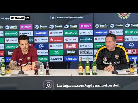 23. Spieltag | FCM - SGD | Pressekonferenz vor dem Spiel