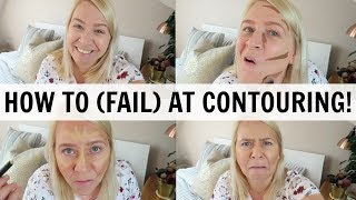 CONTOURING WITH PRIMARK MAKEUP! Mum-Touring Fail!
