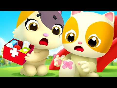 Baby Got a Boo Boo | Doctor Cartoon | Nursery Rhymes | Kids Songs | Kids Cartoon | BabyBus