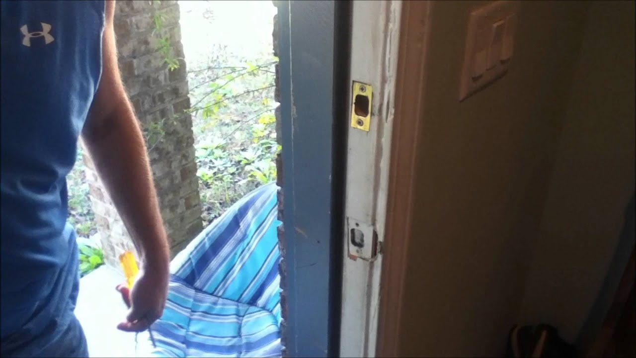 How To Adjust An Exterior Door Youtube