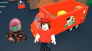 Tag with Ryan - Infrared Robo Ryan VS Roblox Pizza Supplier