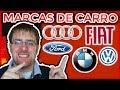 20 MARCAS DE CARRO E SUA PRONÚNCIA CORRETA EM ALEMAO | Volkswagen, BMW, Ford, Audi
