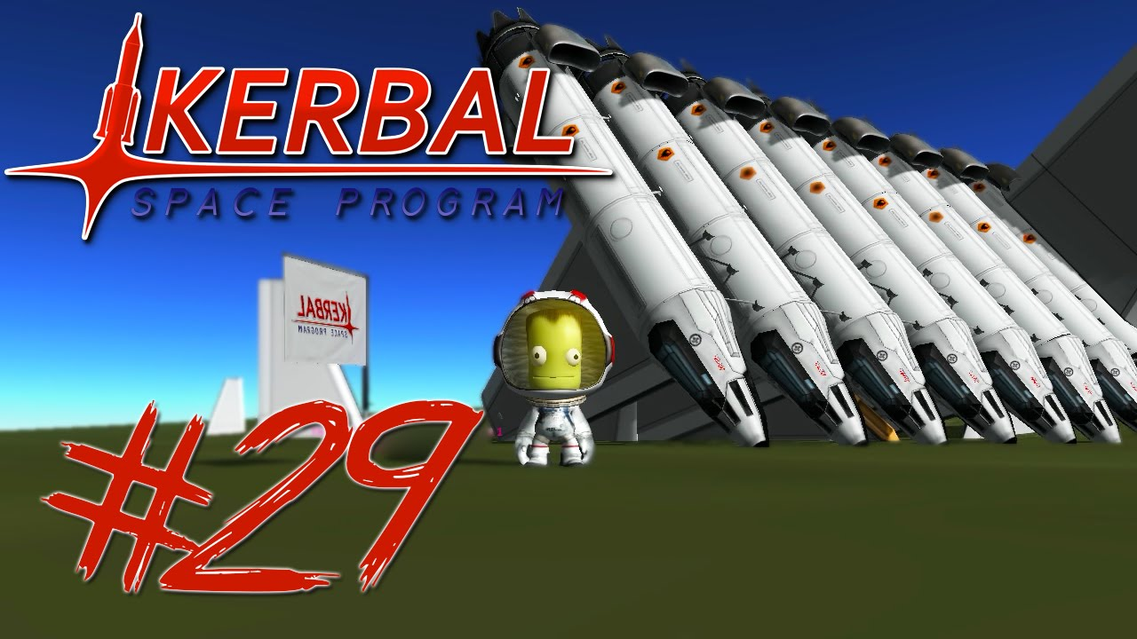 Kerbal Space Program 29 | PLANE STACK CHALLENGE - YouTube