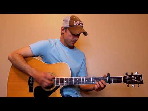 She Ain't In It - Jon Pardi - Guitar Lesson | Tutorial
