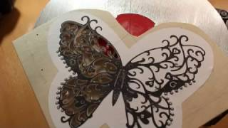 Выпиливание лобзиком из фанеры. Бабочка. Scroll sawing butterfly with JET JSS 16