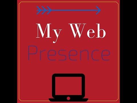 Webinar My Web Presence
