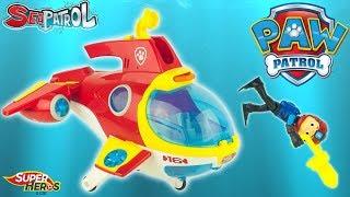 Pat Patrouille Sea Patrol Ryder Sub Patroller Sous Marin Paw Patrol Jouet Toy Review Kids