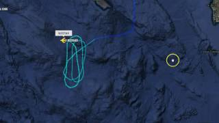 Unusual Flights Continue Off Coast of Southern California, Circling Ocean Area