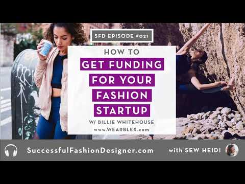 SFD021: How to Get Funding for Your Fashion Startup