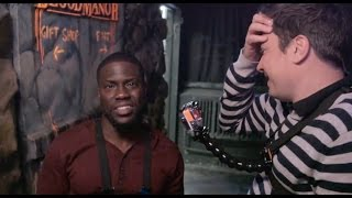 Kevin Hart & Jimmy Fallon Get Scared AF In Haunted House