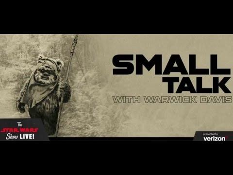 Small Talk with Warwick Davis Panel - Star Wars Celebration 2017 Orlando