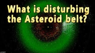 What is disrupting Asteroid belt? Maybe...