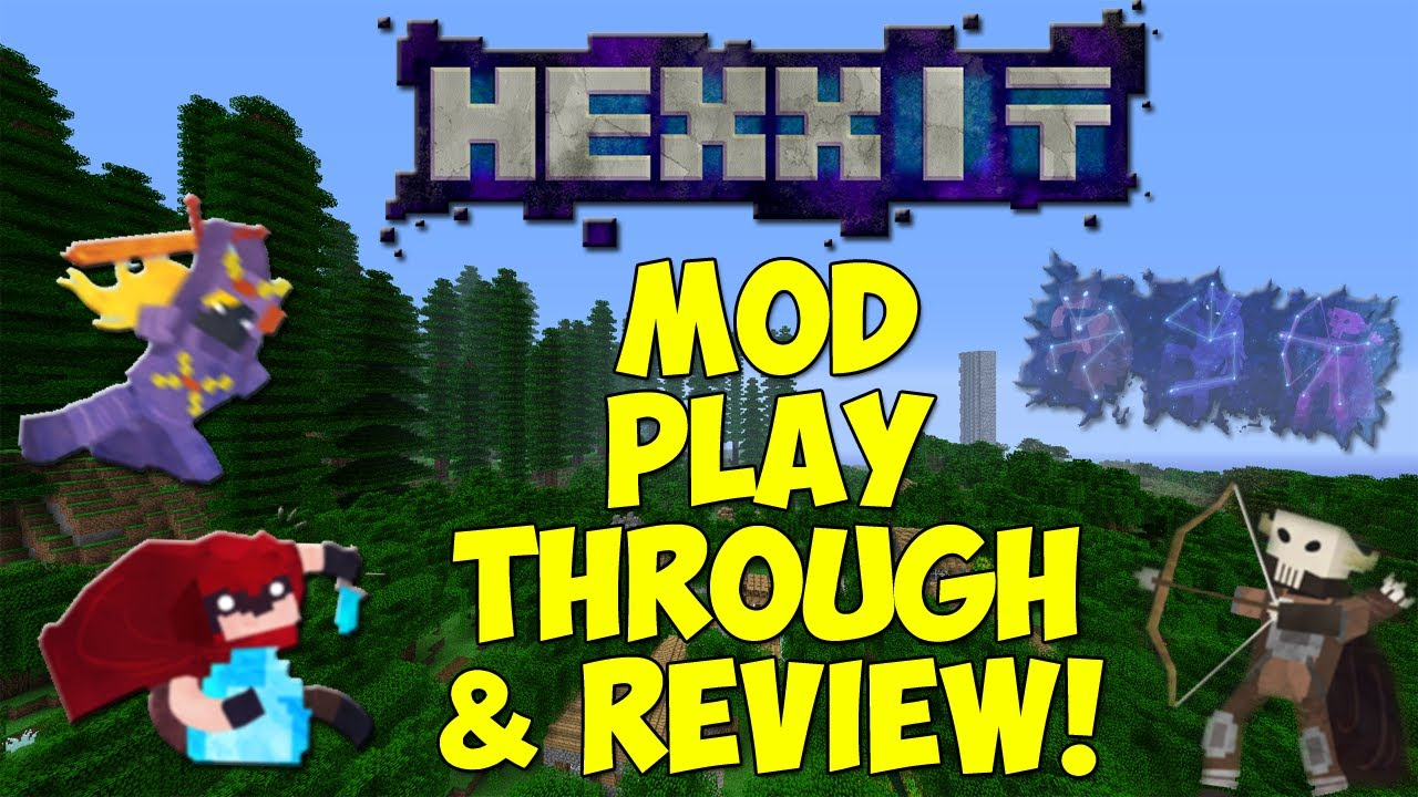 HEXXIT - Epic New RPG Adventure! Play through & Review! First Look!