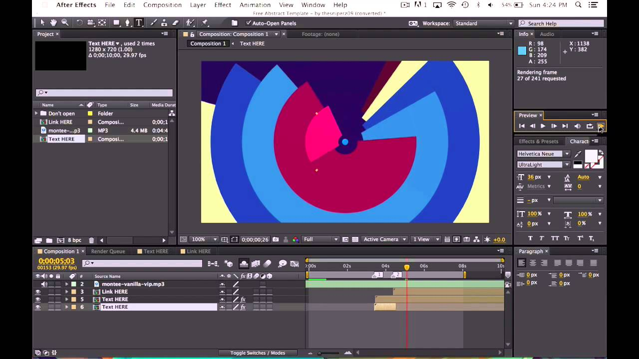 how to use adobe after effects templates how to use adobe after effects templates youtube