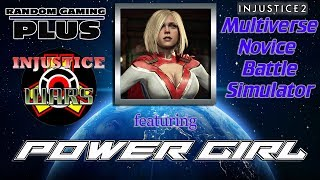 Injustice Wars Multiverse Novice Battle Sim featuring Power Girl | Injustice 2