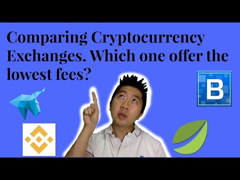 Comparing Cryptocurrency Exchanges. Which One Offer The Lowest Fees?