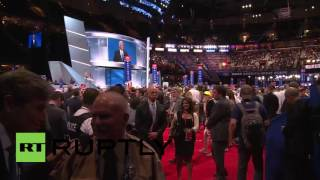USA: Mike Pence accepts Republican VP nomination