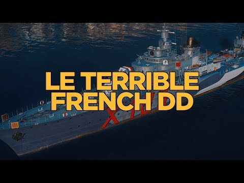 World of Warships - Le Terrible French DD