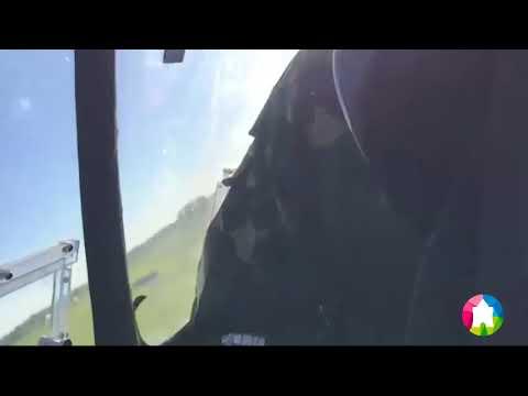 Крушение гироплана Calidus в Нижегородской области попало на видео (26.05.2018)