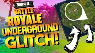 INSANE FORTNITE UNDERGROUND *GLITCH* IM GETTING BANNED?! HOW TO WIN EVERY GAME!?