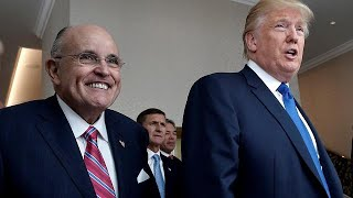 Rudy Giuliani and Donald Trump, From YouTubeVideos
