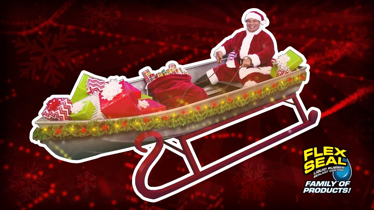 Flex Seal Christmas Commercial 2020 Flex Seal releases a new infomercial with a Santa Phil Swift