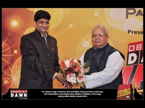 IRA-2013( INDIAN REALTY AWARDS-2013)
