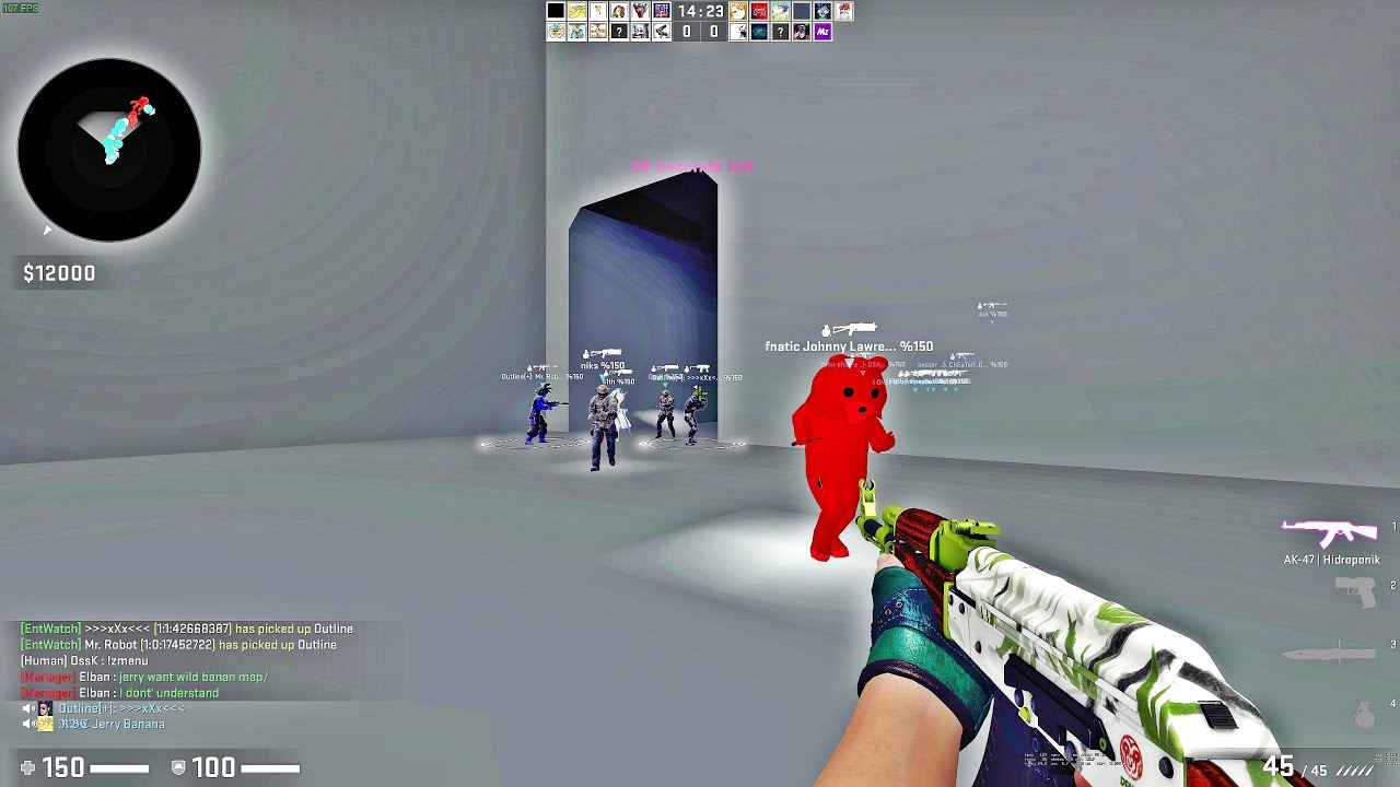 CS:GO - Zombie Escape Mod - ze_Gris_v1_13 | Dreist (4K)