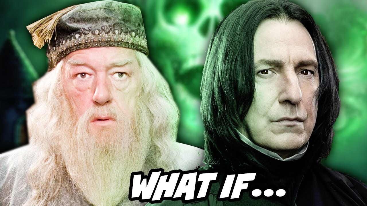 What If Snape Never Killed Dumbledore and Joined Him - Harry Potter Fan Fiction