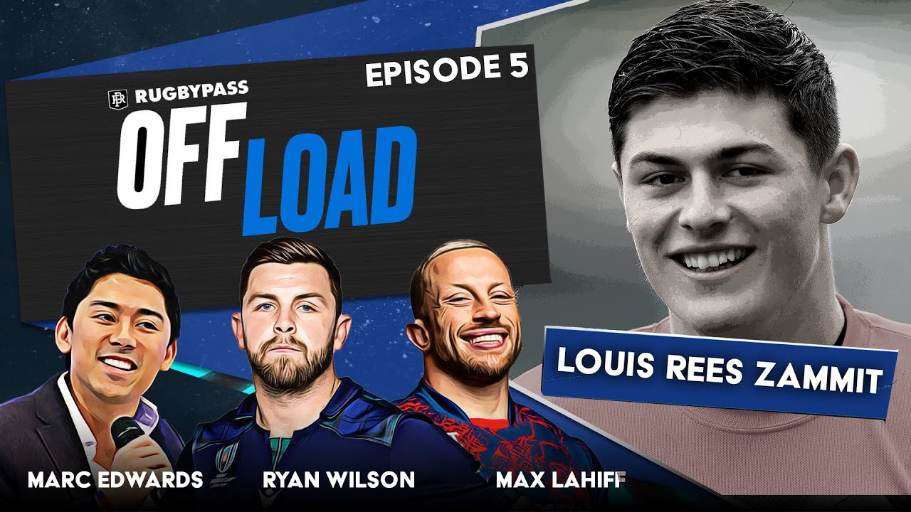 Download Rugby sensation Louis Rees Zammit like you have never seen him before | RugbyPass Offload | EP 5
