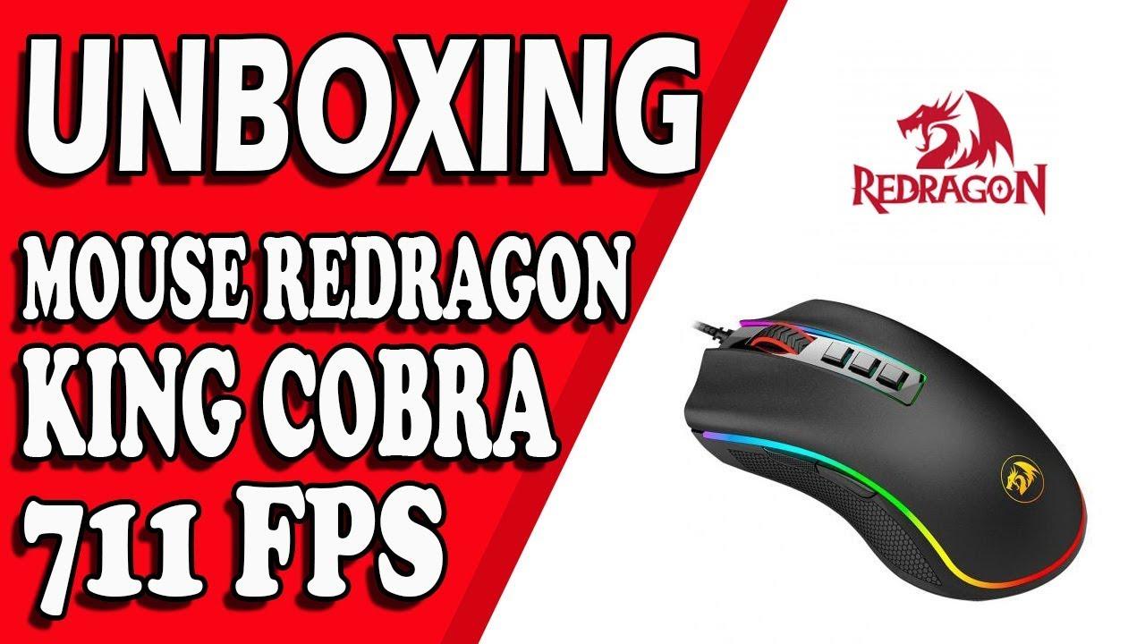 3e1d4946405 Mouse Redragon - King Cobra M711-FPS - YouTube