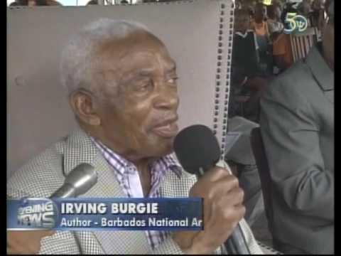 CBC Barbados News Item on Irvin Burgie Visit