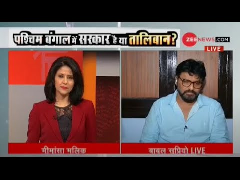 Exclusive: Union Minister Babul Supriyo speaks to Zee News