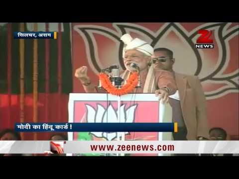 We must accommodate Hindu Bangladeshi migrants: Modi in Assam