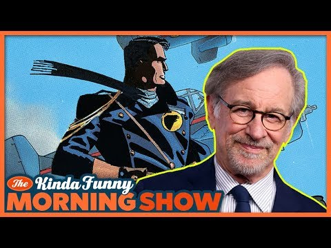Can Spielberg Save DC? - The Kinda Funny Morning Show 04.18.18