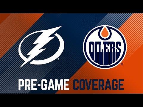 ARCHIVE | Oilers Pre-Game Interviews vs. Tampa Bay
