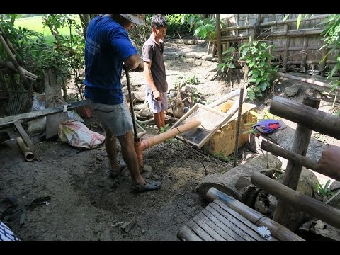 "Philippine Water Well Drilling... ""THE BEGINNING"" ~ Video 1 ~ Santa Barbara Iloilo Phillipines."