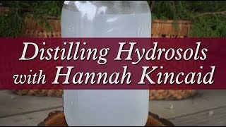 Distilling Hydrosols with Hannah Kincaid