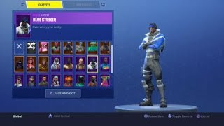 "Fortnite How To Get ""BLUE STRIKER"" Free Ps Plus Skin WITHOUT Ps Plus! (TUTORIAL)"