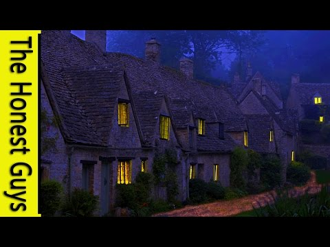 The Autumn Village - Guided Relaxation & Sleep talk-down. Insomnia.