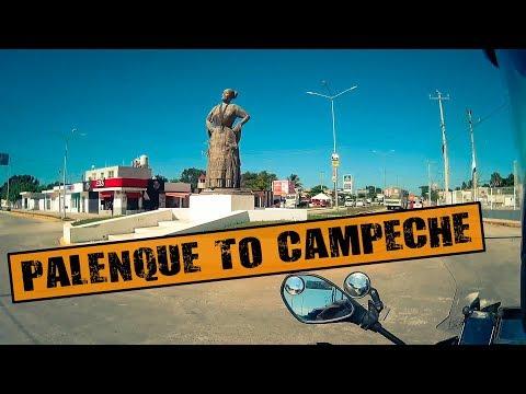 WORLD RIDE 2017    EP 126    Palenque to Campeche, MEXICO