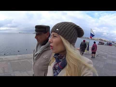Крым. ДЕНЬ ПОЛИЦИИ.Стреляют  и бегают . . Что сносят в Севастополе? Крым 2017