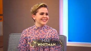"""Good Girls"" Actress Mae Whitman & Harry's Hacks"