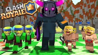 - Monster School Clash Royale Epic Legendary Deck Battle Minecraft Animation