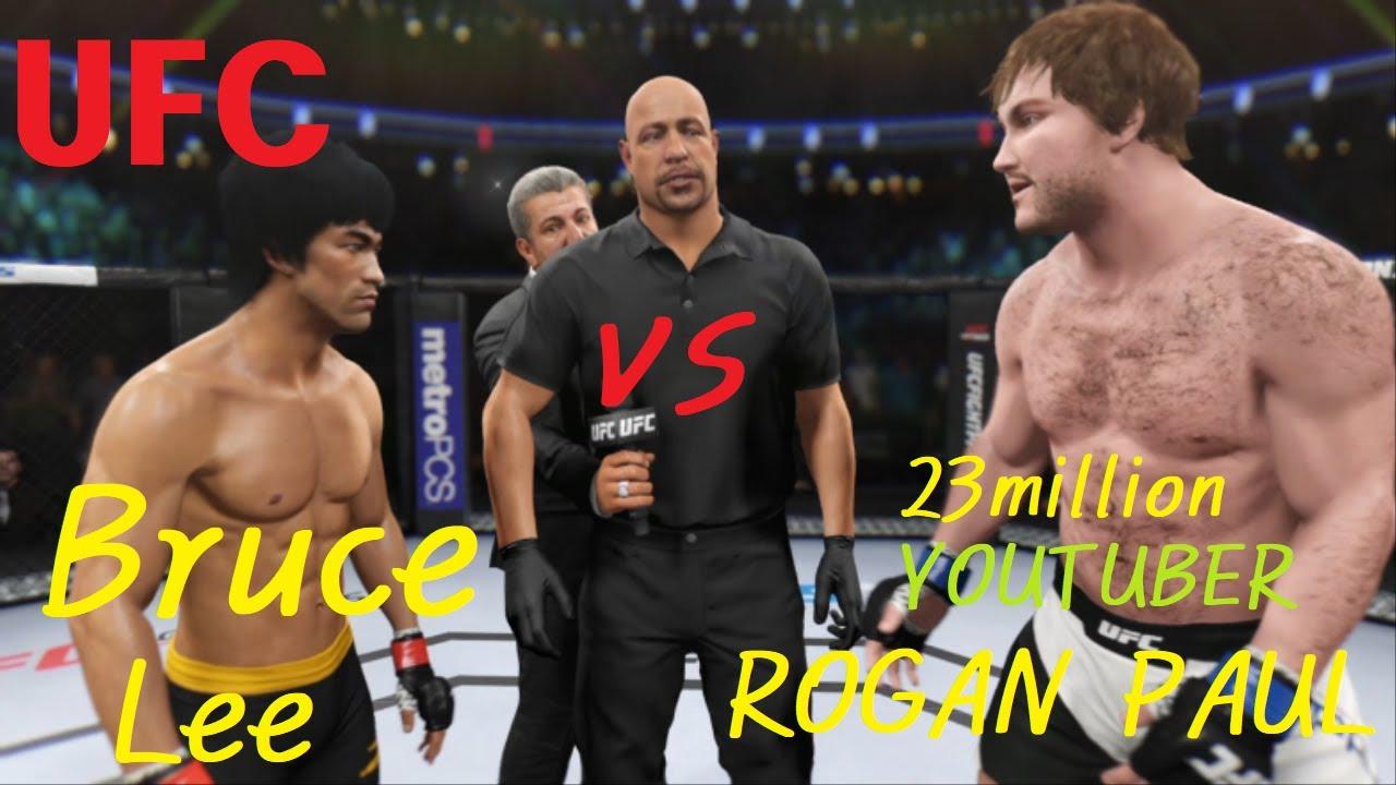 "UFC 이소룡 vs. 로건 폴 "" 메이웨더를 이긴 미친 유튜버!"
