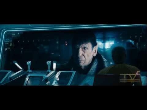 Star Trek Into Darkness - Spock Prime Scene 1080p HD